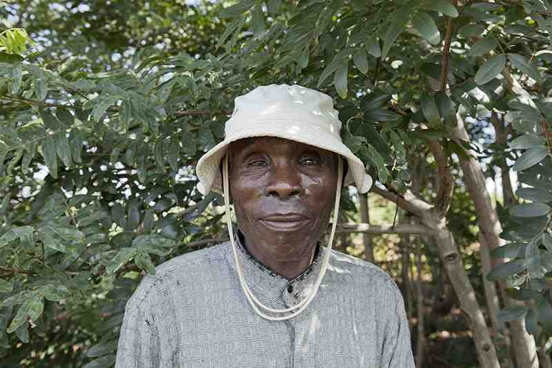 farmer with hat